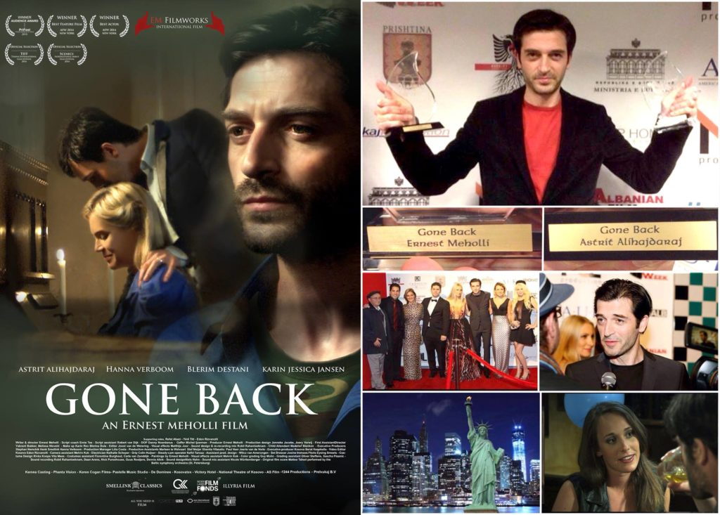 gone back wins best film award and best actor award astrit alihajdaraj ernest meholli new york
